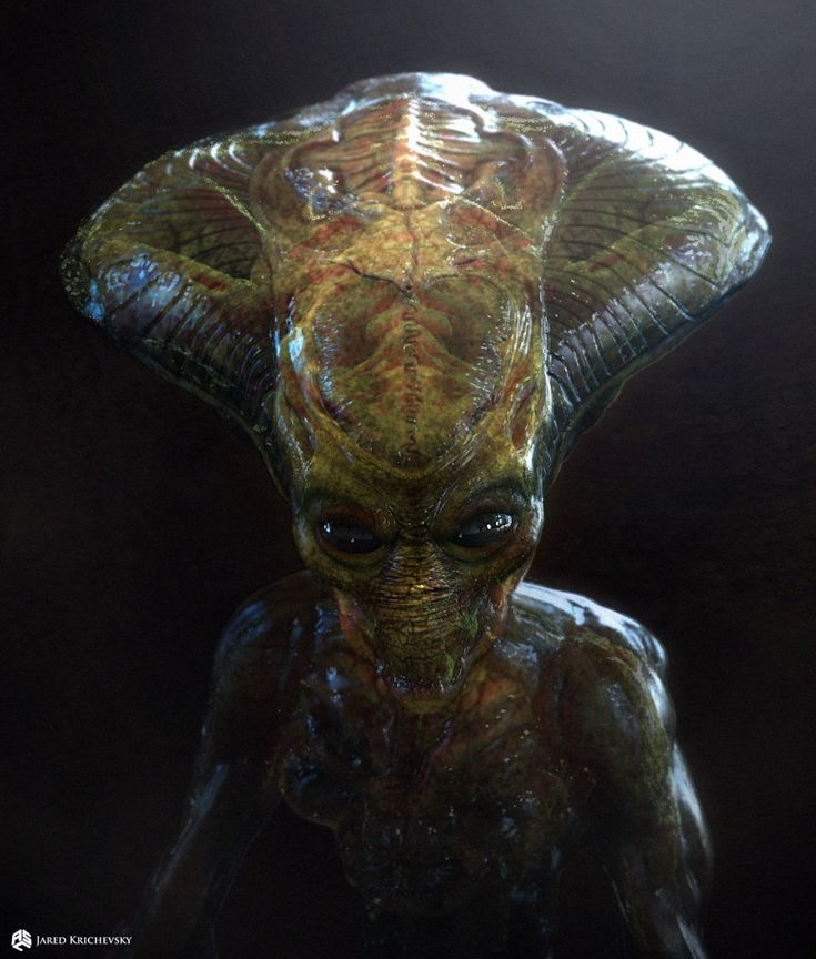 ArtStation - Independence Day 2: Resurgence - Alien Colonists, Jared Krichevsky