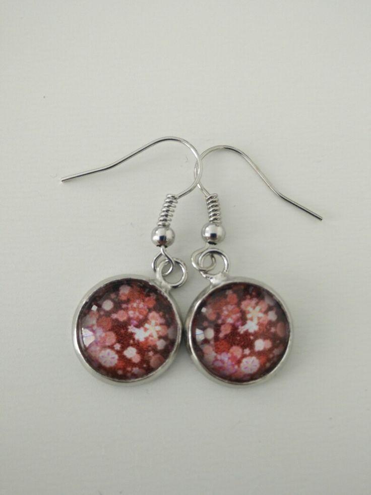 Boucles d'oreille fleurs de cerisier #diy #french #earring