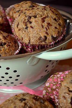 Muffins végétaliens au chocolat et aux graines de lin