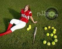 senior pictures softball ideas - Bing Images