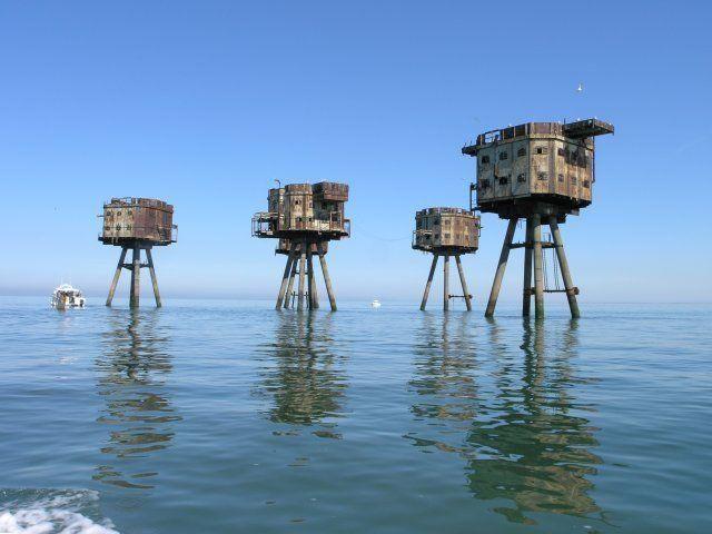 10 Abandoned Sea Forts, Towers & Anti-Submarine Platforms