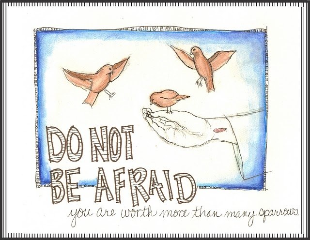 """Fear Not, God Values You. BIBLE SCRIPTURE: Luke 12:7, """"But even the very hairs of your head are all numbered. Fear not therefore: ye are of more value than many sparrows."""""""