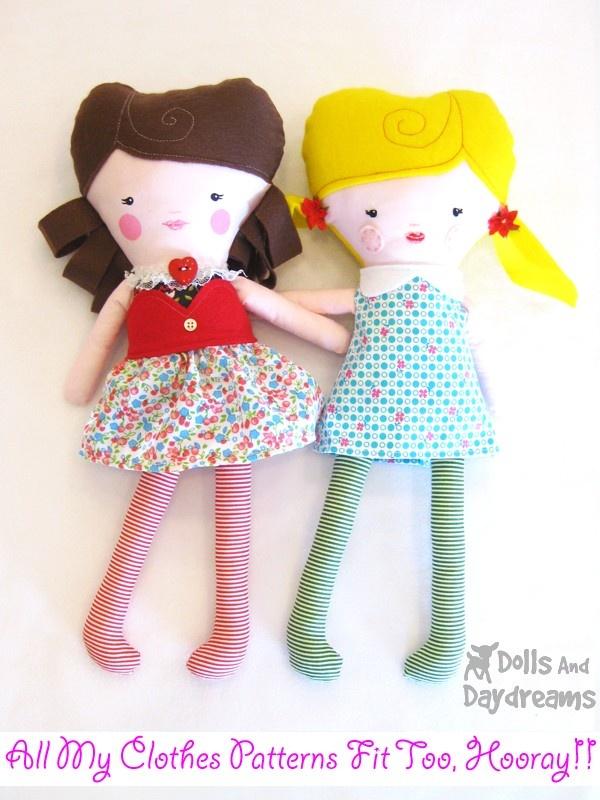 53 best Handmade Dolls images on Pinterest | Plüschtiere, Softies ...