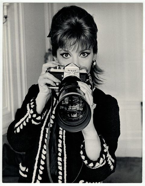 nikon f in hands of gina lollobrigida dated 3 3 1967 all things