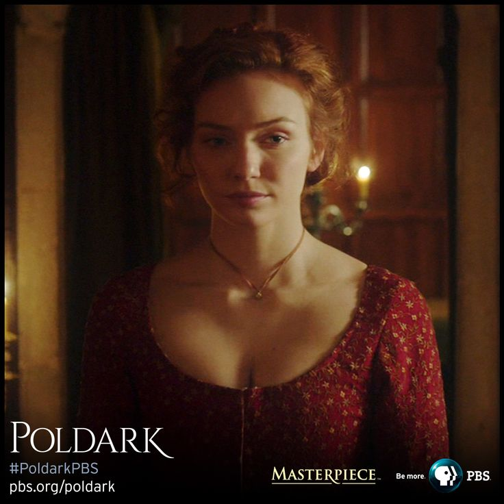 Eleanor Tomlinson as Demelza in Christmas dress, made from embroidered dyed silk. | Poldark, as seen on Masterpiece PBS