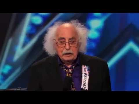 This guy is 84 years old and he's the best!! Made me laugh so hard!  Ray Jessel - The Penis Song Audition (America's Got Talent 2014) - YouTube