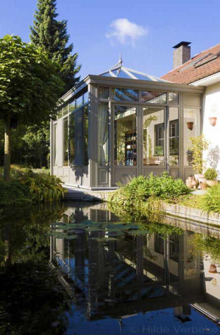 Droom orangerie naast siervijver en rozentuin de mooiste verandas steal porches pinterest - De mooiste verandas ...