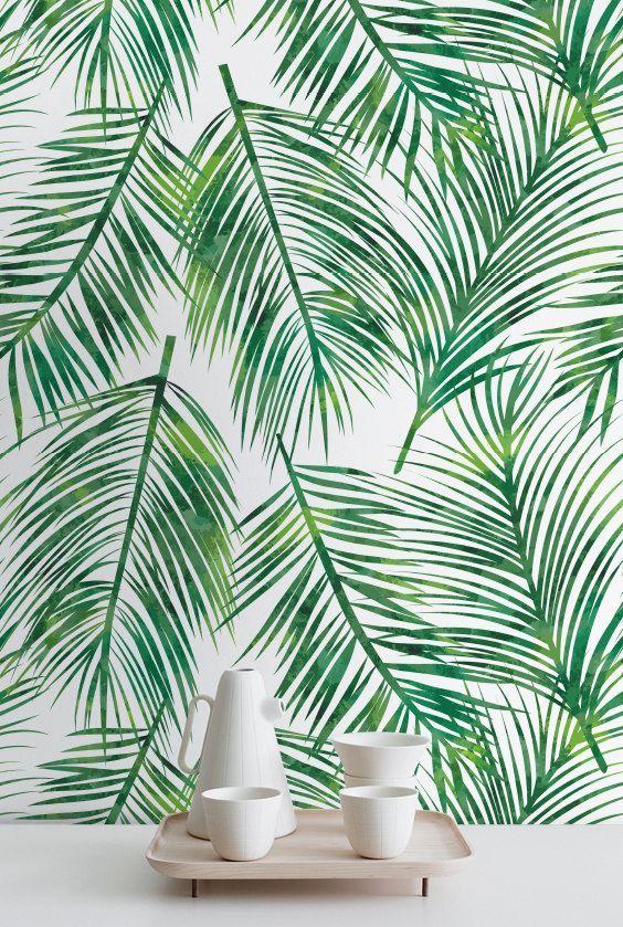17 meilleures id es propos de fond d 39 cran tropical sur for Decoller papier peint facilement