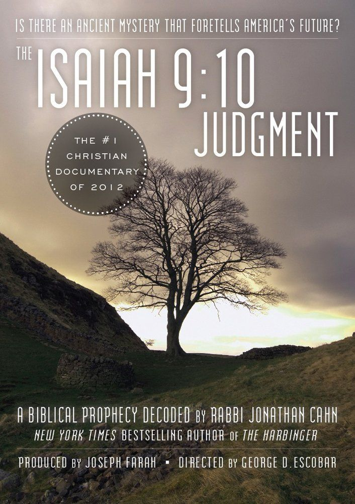 Amazon.com: The Isaiah 9:10 Judgment: Is There an Ancient Mystery that Foretells America's Future?: Jonathan Cahn, George Escobar: Movies & TV