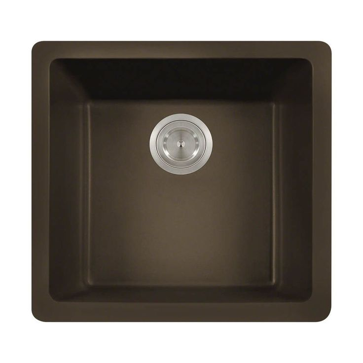 Mr Direct 805 Trugranite Single Bowl Kitchen Sink