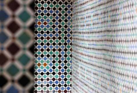 Immagine della ceramica marocchina