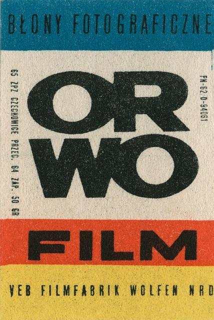 Orwo film