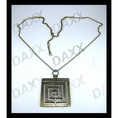 Daxx, eskitme sarı, vintage görünümlü ürünü, özellikleri ve en uygun fiyatların11.com'da! Daxx, eskitme sarı, vintage görünümlü, taşsız kolye kategorisinde! 51435497