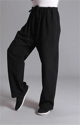 Men's #pants tai chi tang #clothing morning #exercise dress kung fu trousers , View more on the LINK: http://www.zeppy.io/product/gb/2/272017790259/