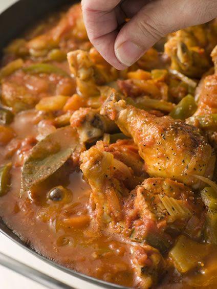 --...it's not a crock pot recipe... Louisiana Crock Pot Chicken Creole