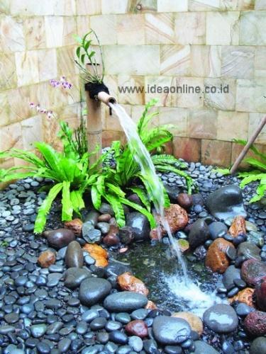 """""""River"""" Garden. Photographer: iDEA/Lukkie Putranto"""