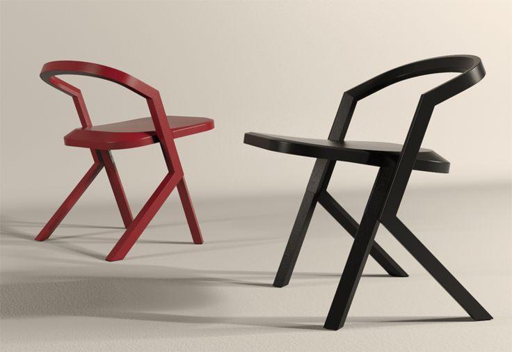 Bevel - chair Designer : Jaewoon Jung Material : wood, metal Dimension : W 470, H 600, D 500 BU Atelier www.BU-Atelier.com Bemiel union www.Bemiel.com  Phone. +82-2-325-3254  e-mail. bemiel@bemiel.com