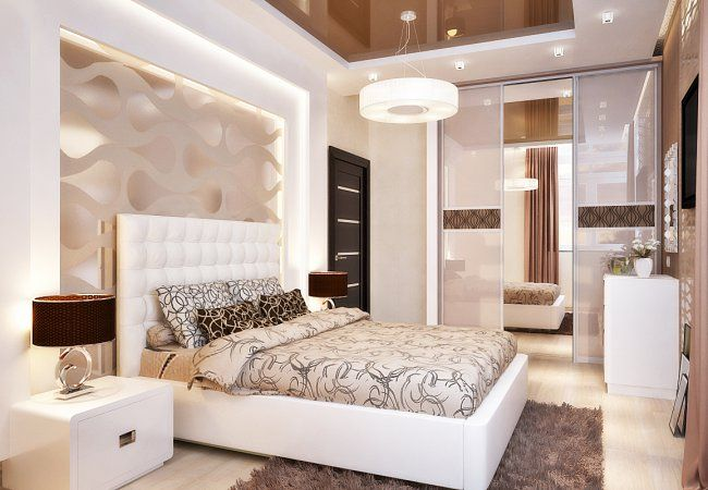 Натяжные потолки в спальню: цены, фото, описание | Купить натяжные потолки для спальни недорого - Вертикаль Групп