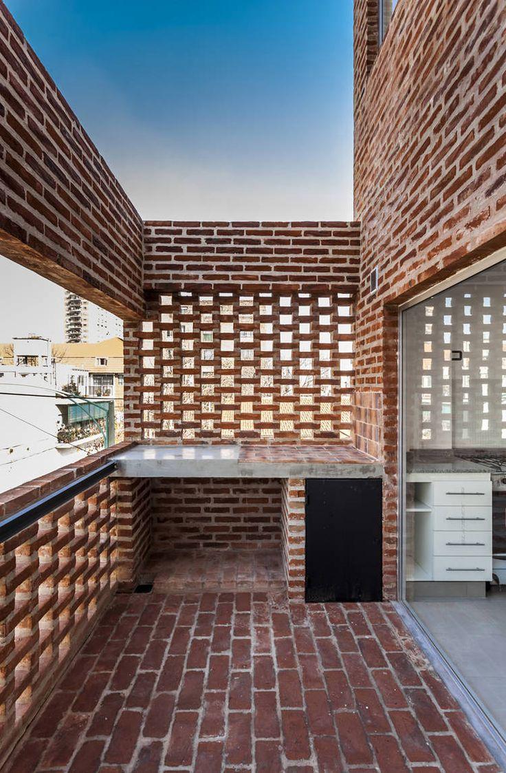 M s de 1000 ideas sobre asadores de ladrillos en pinterest - Dimensiones ladrillo visto ...