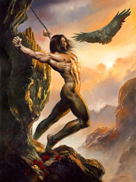 Prometheus by Boris Vallejo