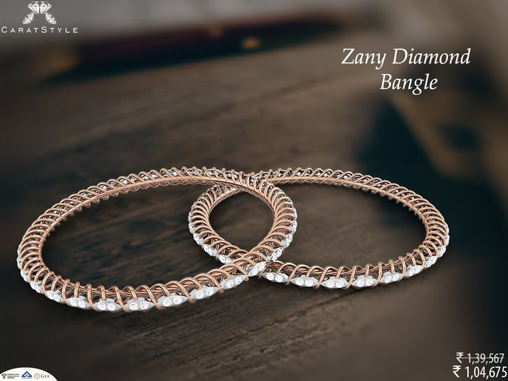 Now it's your time to shine!  #diamond #bangle #woman #trends #shopping #fashionable #fashionstyle
