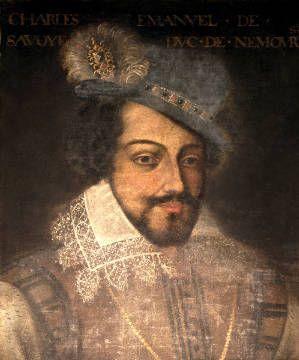 digitaler Kunstdruck, individuelle Kunstkarte: French School, Charles Emmanuel of Savoy (1547-95)