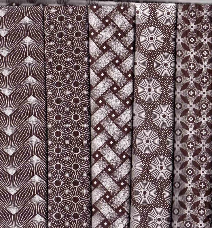 Sishweshwe prints - iconic prints of the Basotho tribe of South Africa.