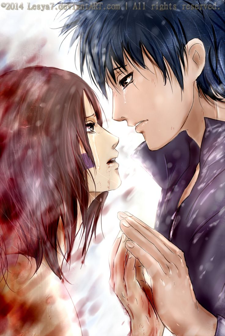 Obito and Rin: I should go...forever. By Lesya7.deviantart ...