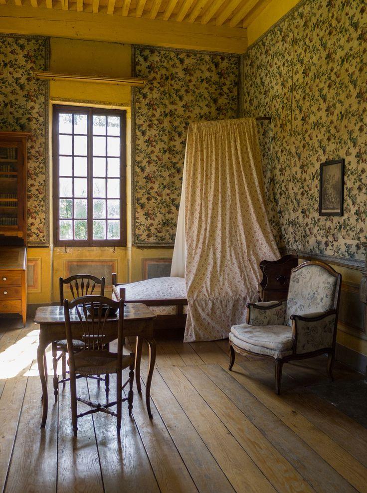 Les Charmettes, maison de J.J. Rousseau et de Mme de Warens, Chambéry (Savoie, France)