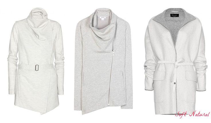 Jackets for Soft Natural (Kibbe). Typ urody Soft Natural – uwodzicielka