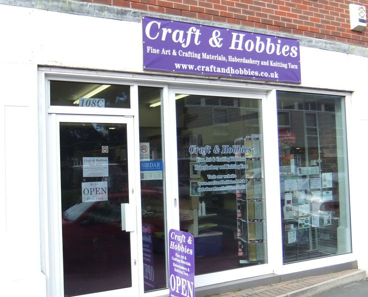 Craft And Hobbies Shop, 108C London Road, Bognor Regis