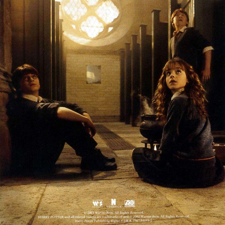 Carátula Interior Frontal de Bso Harry Potter Y La Camara Secreta (Harry Potter And The Chamber Of Secrets)
