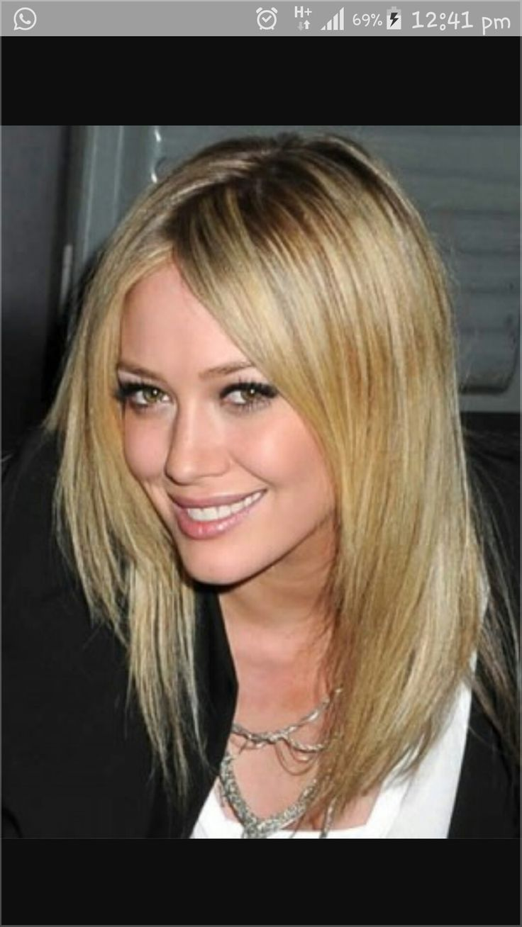Medium One Length Hairstyles simple and easy