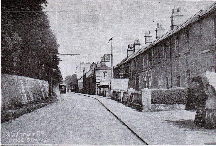 Claverton Road, Combe Down, Bath c. 1900