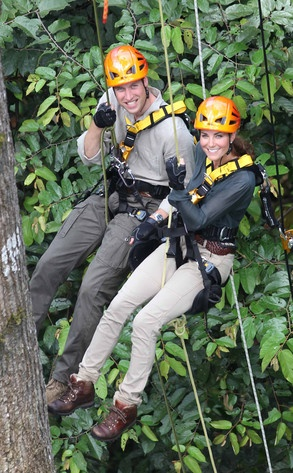 Prince William, Duchess Catherine, in Borneo.  Sept. 15, 2012: Duchess Of Cambridge, Prince Williams, Trees, Kate Middleton, Photo, Royals Families, Catherine Duchess, Rainforests, Princesses Kate