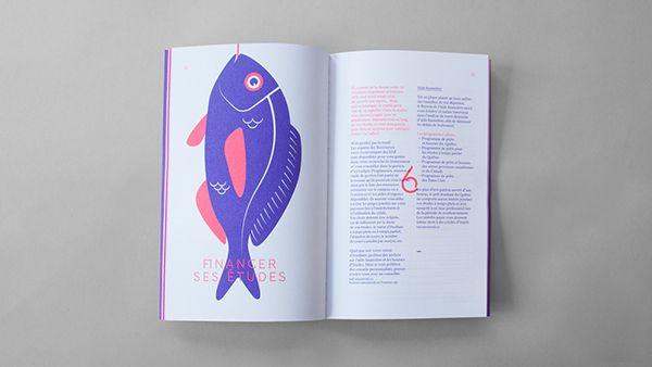 UdeM Manuel de survie de l'étudiant 2014/2015 Creative Direction, Graphic Design, Illustration