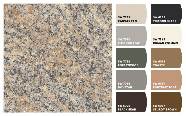 Brazilian Granite Colors : Best images about sherwin williams chip it matches on