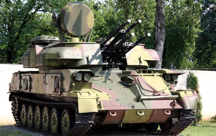 "enrique262: "" ZSU-23-4 Shilka soviet self-propelled, radar guided anti-aircraft weapon system (SPAAG). The acronym ""ZSU"" stands for Zenitnaya Samokhodnaya Ustanovka (Russian: Зенитная Самоходная..."