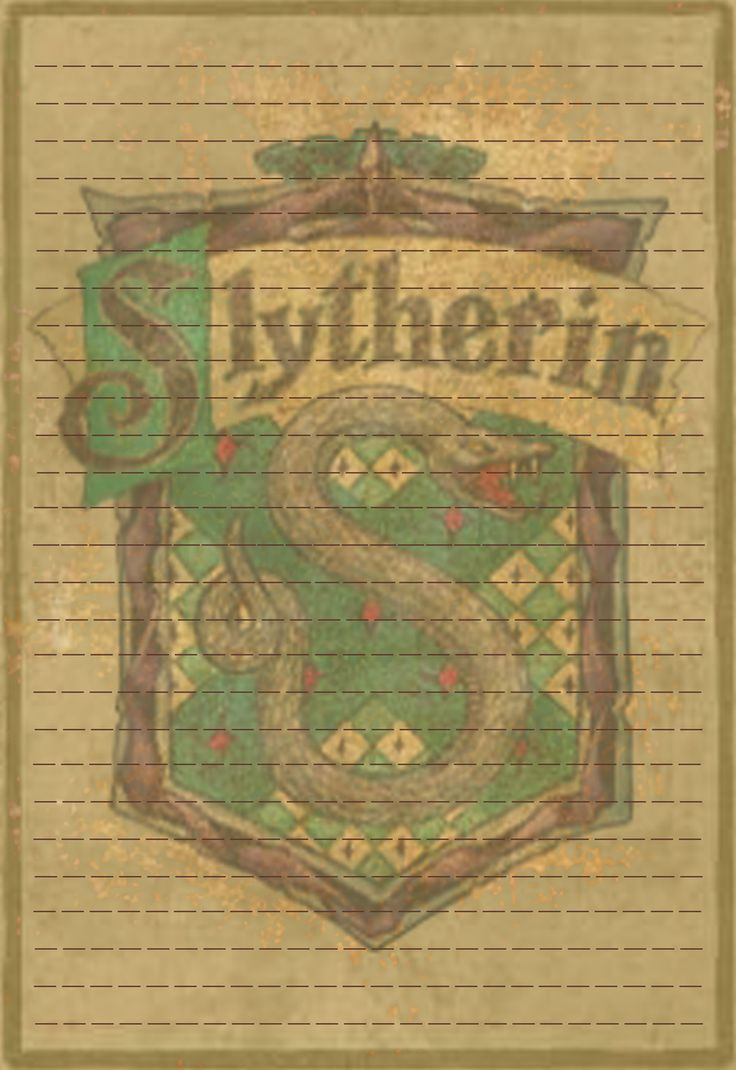Slytherin Stationery Option3 by Sinome-Rae.deviantart.com on @deviantART