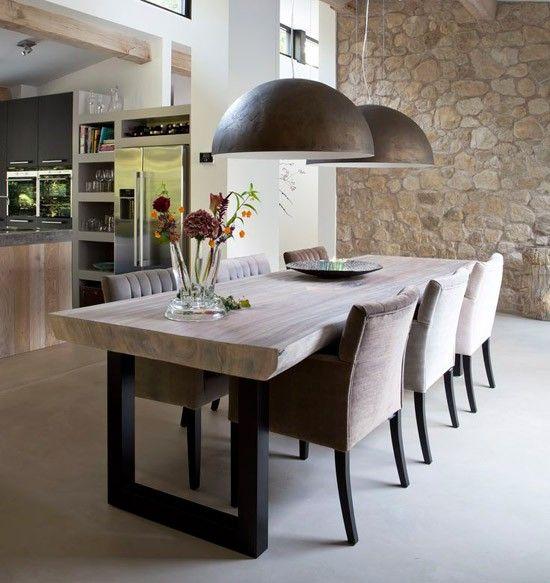 25 beste idee n over eettafel stoelen op pinterest eetkamertafel eettafels en rond dineren - Hedendaagse stoelen eetkamer ...