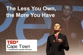 TEDx Cape Town - The Benefits of Downsizing   Mostly Mindful