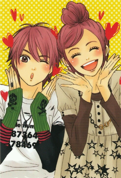 Lovely Complex (Risa and Otani)