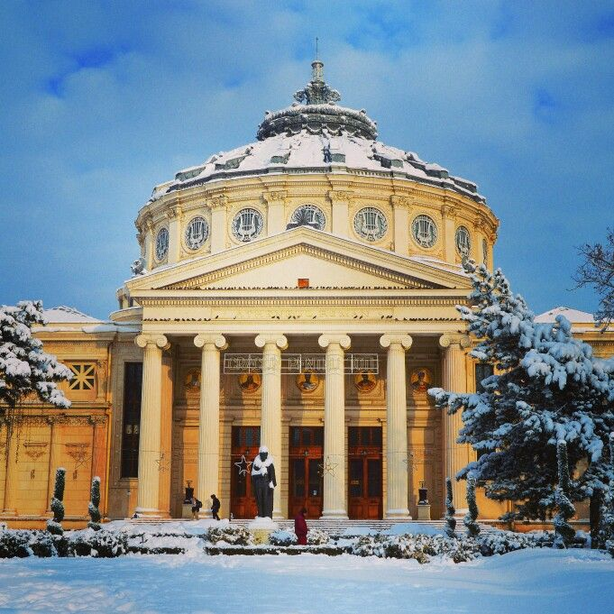 Romanian #Atheneum, the famous music hall in Bucharest