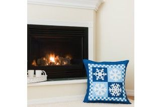 GO! Snowflakes Wall Hanging/Pillow Pattern