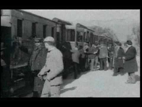Arrival of a Train at La Ciotat (The Lumière Brothers, 1895)   Shown at the evening deemed the birth of cinema