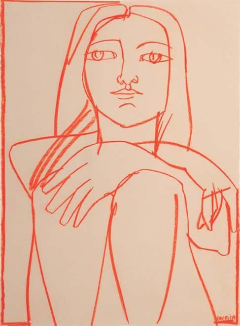 america martin | woman in orange