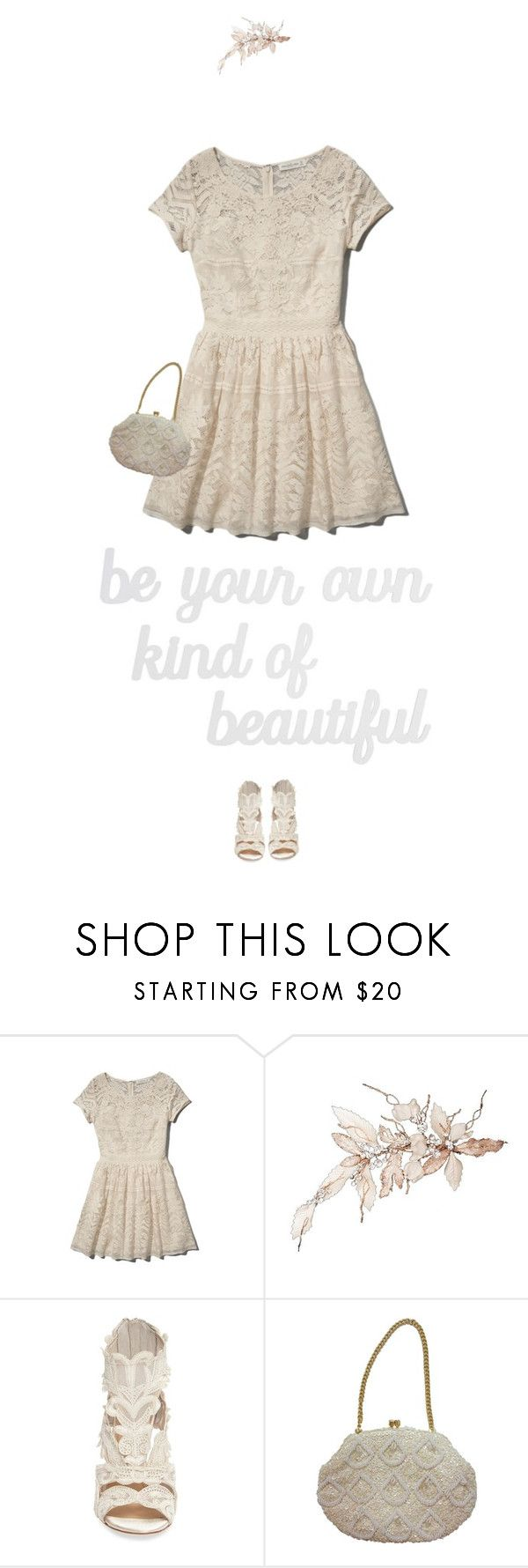 """""""Retro Chick"""" by tubamirum ❤ liked on Polyvore featuring Abercrombie & Fitch, Imagine by Vince Camuto and PBteen"""