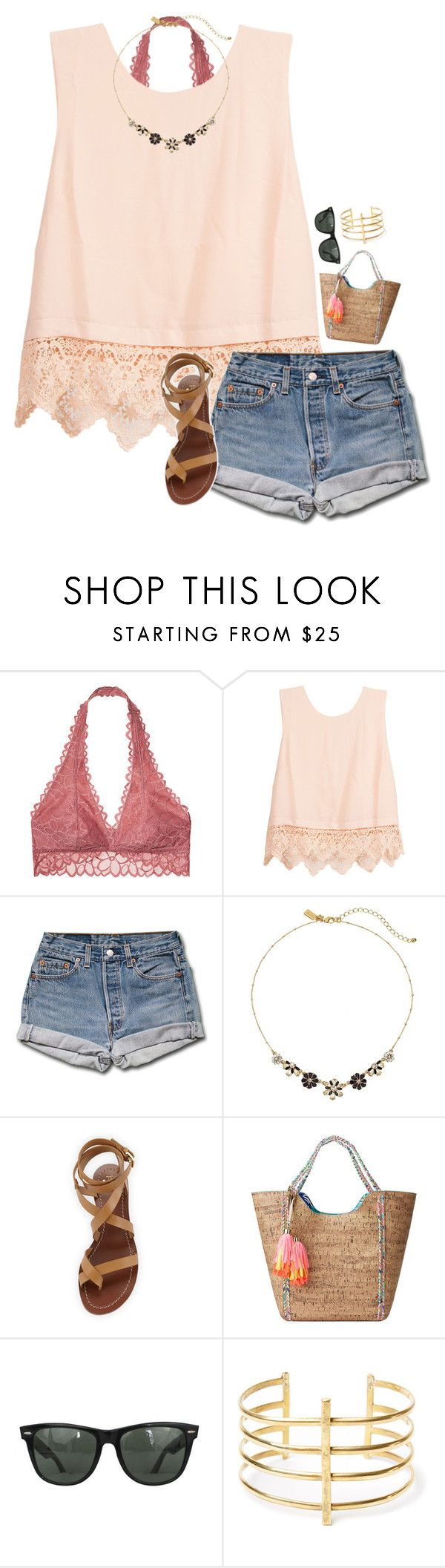 """Days like this I want to drive awa-ay"" by sanddollars on Polyvore featuring Victoria's Secret, Lush Clothing, Kate Spade, Tory Burch, Lilly Pulitzer, Ray-Ban and BauXo"