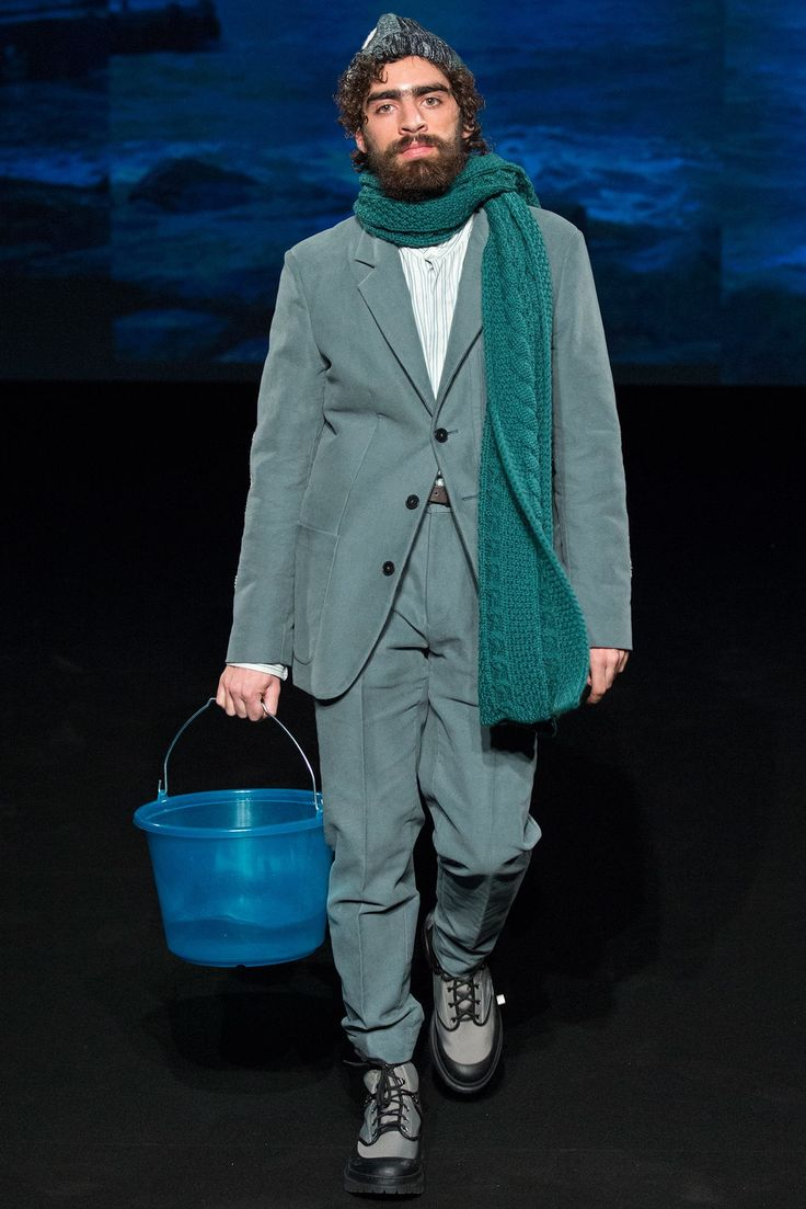 Umit Benan Fall 2015 Menswear Fashion Show