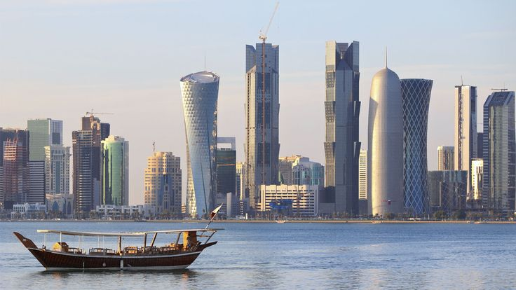 Doha Skyline as seen from a Dhow
